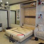 шкаф-кровать в маленькой квартире